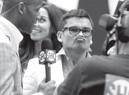 argentina s marcos maidana reacts to questions during a ...