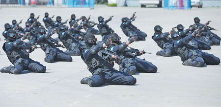 The Second Batch Of The China Peacekeeping Formed Police
