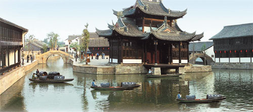 The Architecture In Luzhen Reflects Traditional East China
