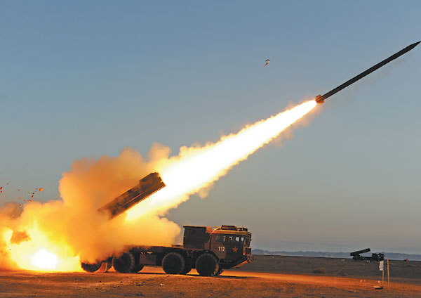 's first-rate artillery force boasts high accuracy -