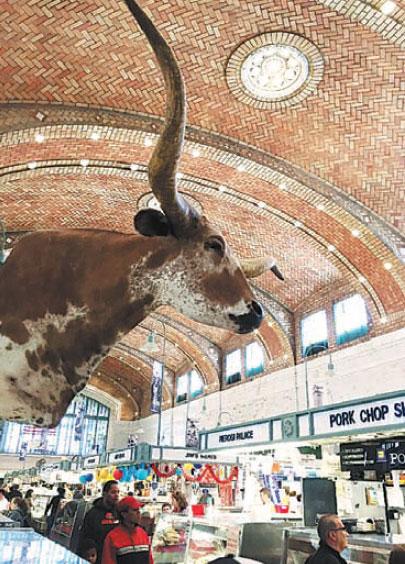 Cleveland S Historic Vibrant West Side Market Illustrates