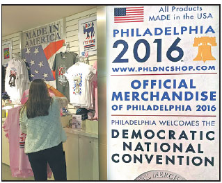 Australian Consulate Nyc >> The store inside the Comcast Center in Philadelphia sells only 2016 DNC souvenirs. Chen Weihua ...