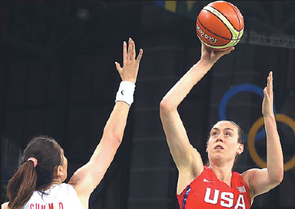 sun mengran china and breanna stewart us compete at a ...