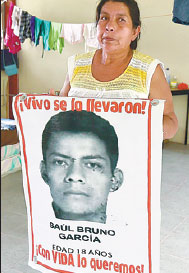 Burns Flat Ok >> nicanora garcia mother of saul bruno alfredo estrella afp