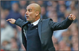 Manchester City Manager Pep Guardiola Returns On Wednesday