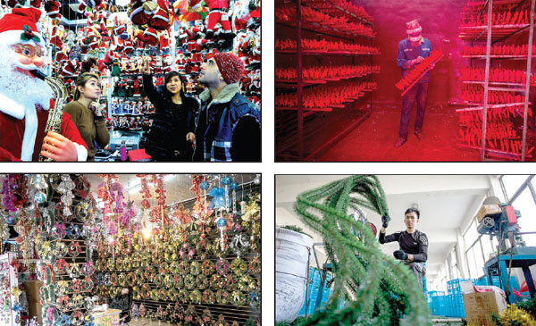 christmas goods factories and retail outlets in yiwu