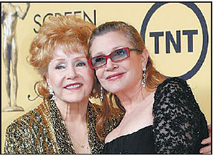 Nationwide Claims Phone Number >> actress debbie reynolds with her daughter actress carrie ...