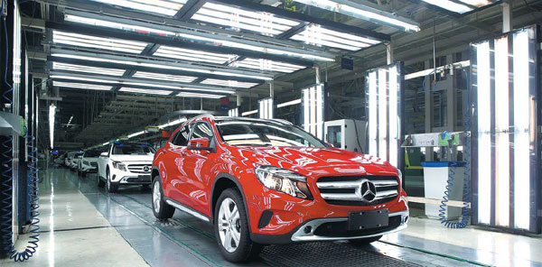 Daimler continues growth via localization - China