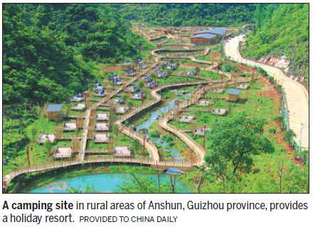 Located On The Baishui River In Anshun It Is 77