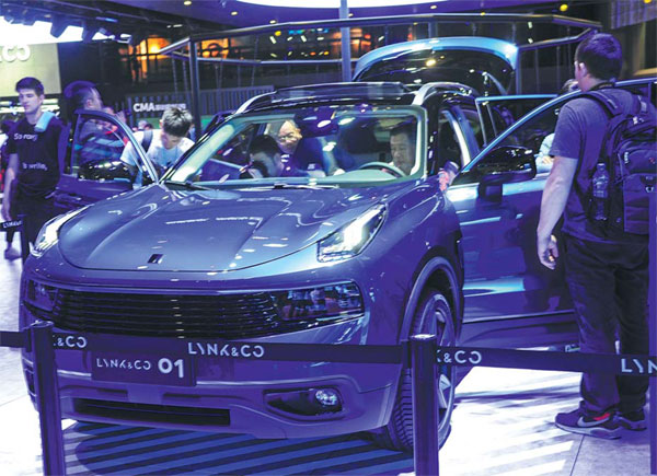 ford, geely clash over us brand names