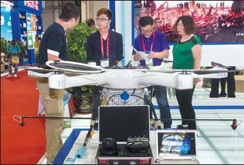 Customers Inquire About Drones At A China Northeast Asia