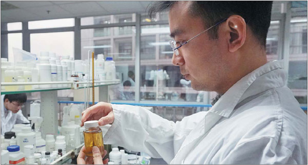 Kids Use Of Technology Soars >> a researcher at enchanted power in the zhangjiang national ...