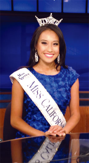 A Beaming Crystal Lee Shortly After Being Crowned Miss