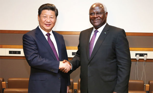 Xi: China to help Sierra Leone, Nigeria