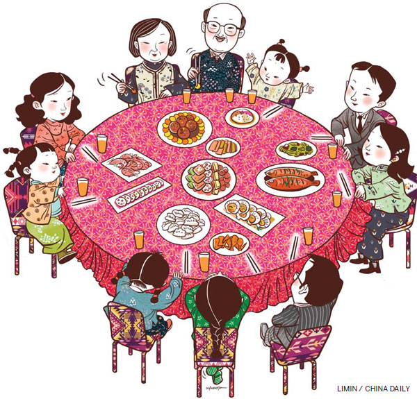 Family Etiquette Lives On At The Dinner Table