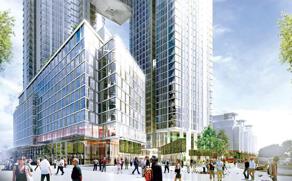 An Artist S Sketch Of One Nine Elms A New Development In