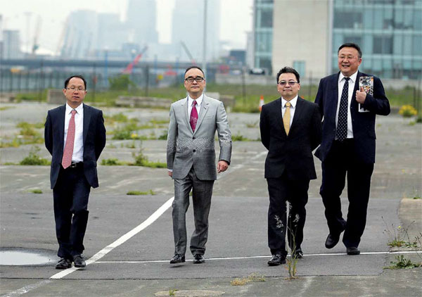 Abp Chairman Xu Weiping Second From Left And Delegates