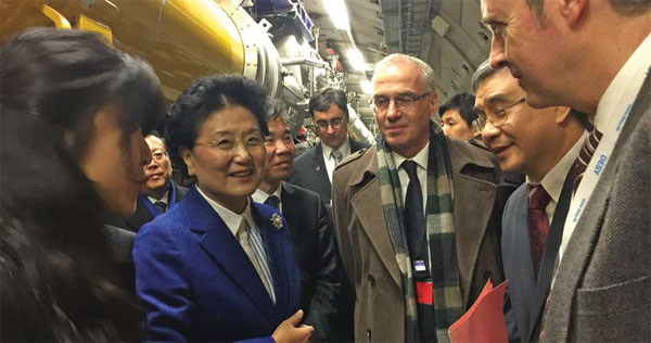 Visiting Vice Premier Liu Yandong Has Urged More Science