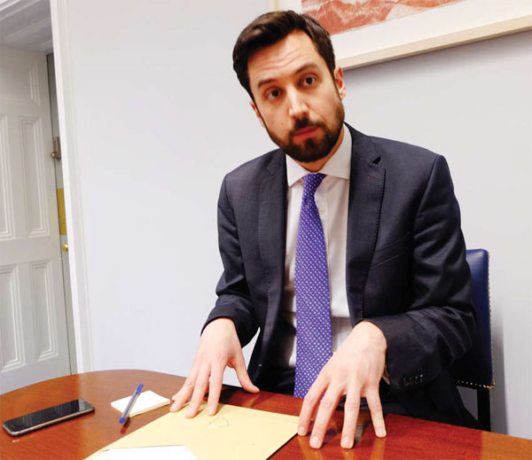 Eoghan Murphy, Ireland's Minister Of State For Financial