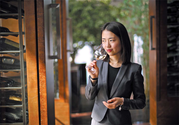 Li Meiyu The First Female Advanced Sommelier On Chinese