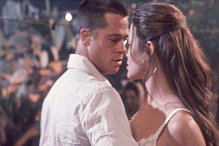 Angelina and brad pitt mr