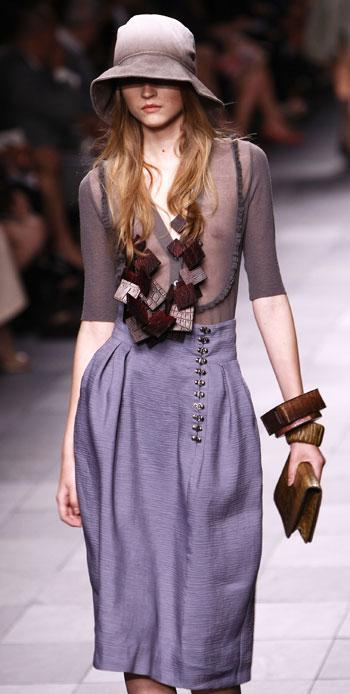 Burberry Prorsum at Milan Fashion Week