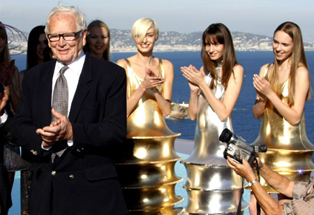 Pierre Cardin unveils his 2009 ready-to-wear collection