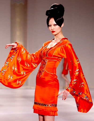 Chinese Fashion Websites on China Fashion Week Features Ne Tiger 2009 Haute Couture Show