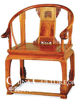 A Replica Ming Style Chair Made Of Yellow Rose Wood Is Among The  Collections Of Rare Wood Furniture In Chanu0027s Museum. Courtesy Of China Red  Sandalwood ...