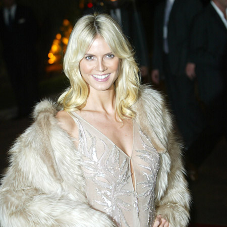 Mature model Heidi Klum. Heidi Klum will still be a model when she is 80 and ...