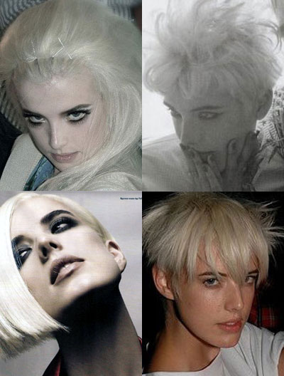 New face of Britain-Supermodel Agyness Deyn and her iconish hairstyles