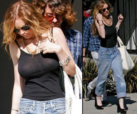 2009 Jeans Trend: Boyfriend Jeans.