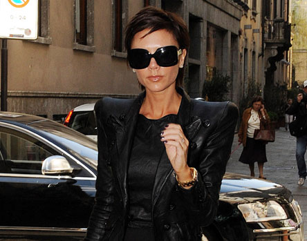 Victoria Beckham seen shopping in Milan