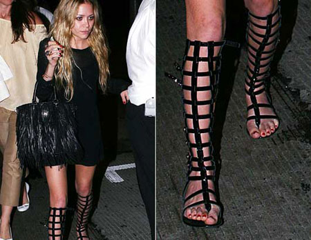 Gladiator sandals trend and how celebs wear them