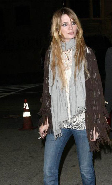 Celeb Style: Lightweight Scarves for Spring Transitions