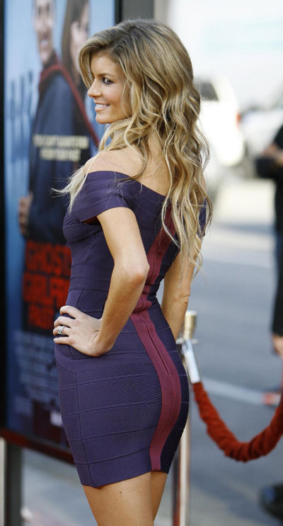 Model Marisa Miller  at the premiere of