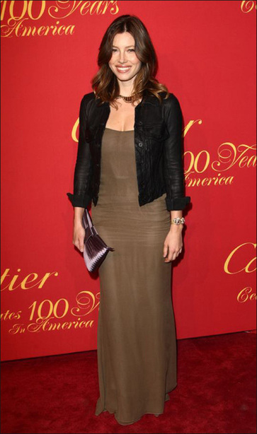 Anne Hathaway,Demi Moore and Jessica Biel arrive at Cartier's 100th Anniversary
