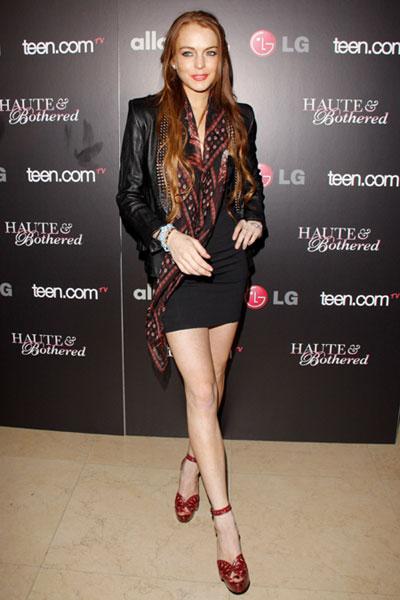 Lindsay Lohan at