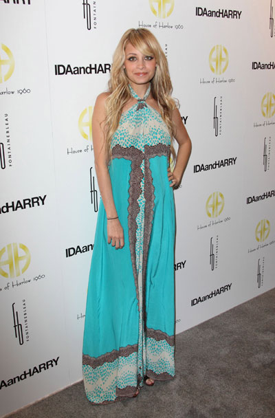 Nicole Richie attends launch of House of Harlow 1960 Jewelry Collection