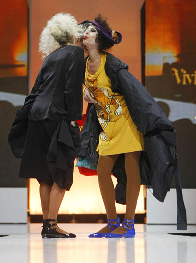 Vivienne Westwood Anglomania Autumn/Winter 09/10 collection during the Audi Fashion Festival in Singapore