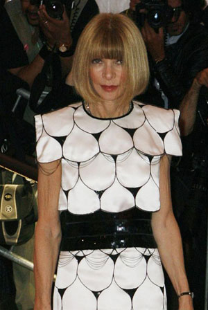 Anna Wintour does rare interview with `60 Minutes'