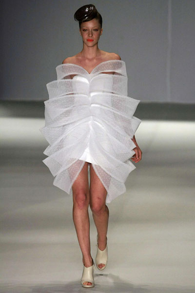 Acquastudio's 2010 spring/summer collection during Fashion Rio Show