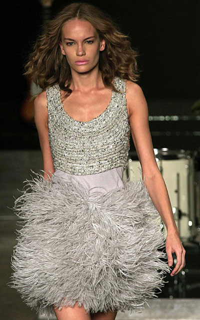 Tessuty's 2010 Spring/Summer collection during Fashion Rio Show in Rio de Janeiro