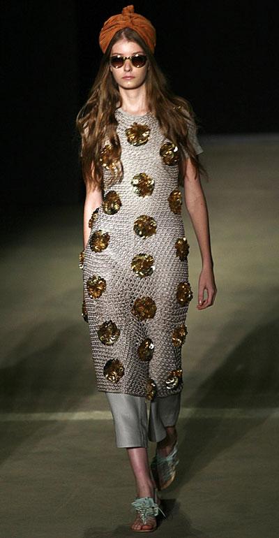 Sta. Ephigenia's 2010 spring/summer collection during Fashion Rio Show in Rio de Janeiro