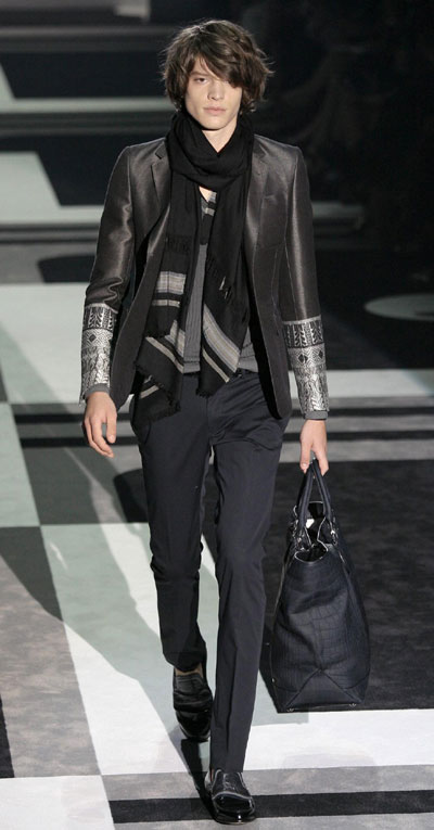 Gucci Spring/Summer 2010 men's collection