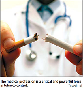 doctors to drive anti-smoking initiative