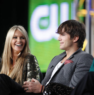 Elle Macpherson at the CW Television Network