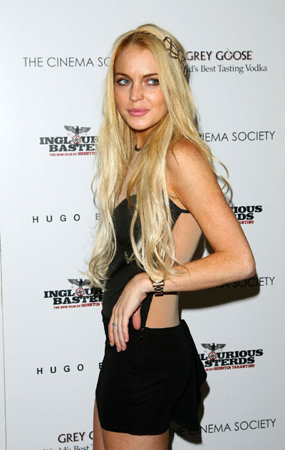 Lindsay Lohan and Diane Kruger and other celebs at screening of