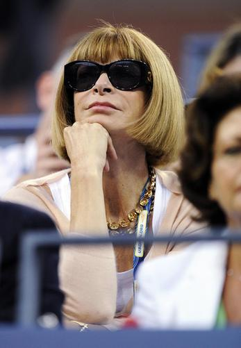 Queen of the catwalk editors? Vogue's Anna Wintour: Forbes
