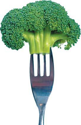Eating broccoli helps keep arteries healthy